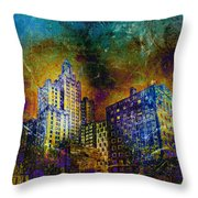 My City Providence Throw Pillow