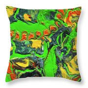 My Colorful Past Throw Pillow