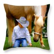 My  Companion Throw Pillow