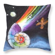 My Creation Story Throw Pillow