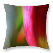 My Cup Overflows Throw Pillow