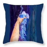 My Cup Runneth Over Throw Pillow
