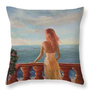 My Darling Throw Pillow