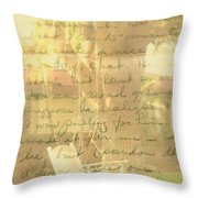 My Dear John Throw Pillow