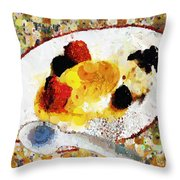 My Dinner With Gustav Throw Pillow