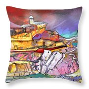 My Dream Place In Spain Throw Pillow