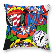 My Eyes Throw Pillow