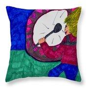 My Fan Throw Pillow