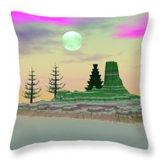 My Fantasy Island Throw Pillow