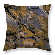My Favorite Colors Throw Pillow