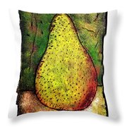 My Favorite Pear One Throw Pillow