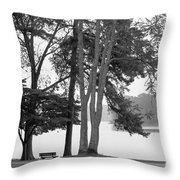 My Favorite Place Throw Pillow