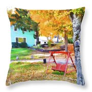 My Favorite Time Of Year Throw Pillow