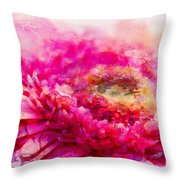 My Favourite Abstract Throw Pillow