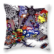My Feelings Throw Pillow