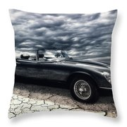 my friend the Jag Throw Pillow
