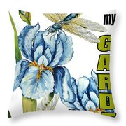 My Garden-jp2829 Throw Pillow