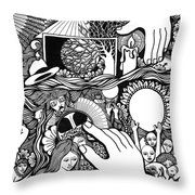 My God And I That Have No Charity Throw Pillow