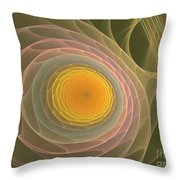 My Guitar Strings Throw Pillow