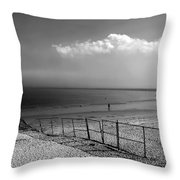 My Head's In The Cloud Throw Pillow