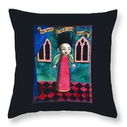 My Heart Is Full Of Consolation Throw Pillow