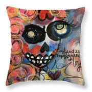 My Heart Is So Happy To Know You Throw Pillow