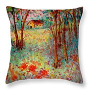 My Heavenly Hideout Throw Pillow