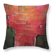 My Hill Painting Throw Pillow