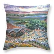 My Home Looking West Throw Pillow