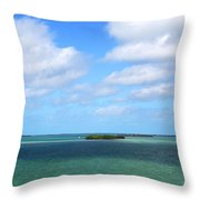 My Island In The Sand Throw Pillow