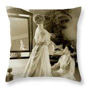 My Lady Daisy Throw Pillow
