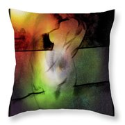 My Lady Of The Stars Throw Pillow