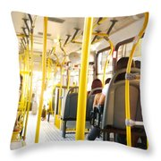 My Lifetime, My Day, My Bus, My Prision Throw Pillow
