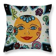My Little Sunshine Throw Pillow