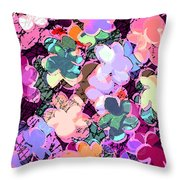 My Little World Throw Pillow