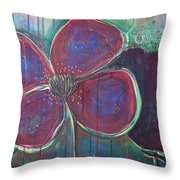 My Love For You Grew And Grew Throw Pillow