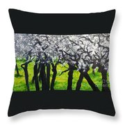 My Love Of Trees II Throw Pillow