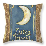 My Luna Throw Pillow
