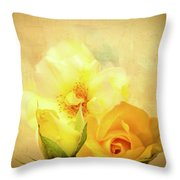 My Melody Of Love Throw Pillow
