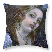 My Mermaid Christan Throw Pillow