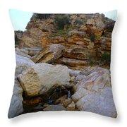 My Mountain Hiking Spot Throw Pillow