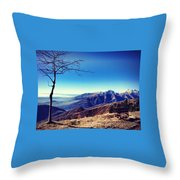 My Mountains  Throw Pillow