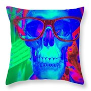 My New Glasses Throw Pillow
