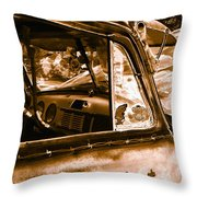 My Old Chevy Truck Throw Pillow