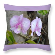 My Orchid # 15 Throw Pillow