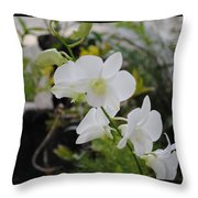 My Orchids # 10 Throw Pillow