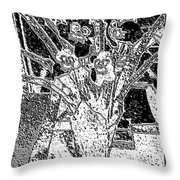 My Orchids Throw Pillow