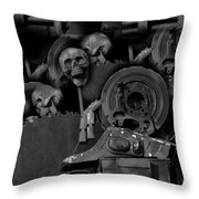 My Pains Revealed Throw Pillow