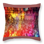 My People Throw Pillow