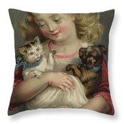 My Pets  Throw Pillow